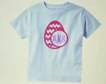 Easter Egg Personalized Monogramed Shirt