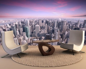 New York city Wall Mural, Wall Decal, Removable Wall Wallpaper Wall Mural Wall Decal, Wall Art