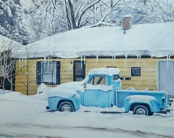 "Custom Watercolor Paintings 18""x 24"""
