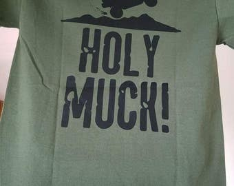 ATV UTV 4 wheeler quad side by side mudding Holy Muck T Shirt