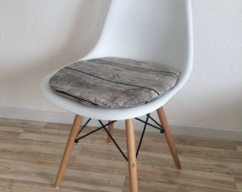 3 cm or 6 cm wood Eames Chair Seatcushion seat cushions with zipper
