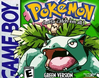 Fan Made and Translated Green Version Pokemon