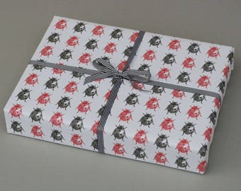 Ladybird Wrapping Paper // 5 sheets