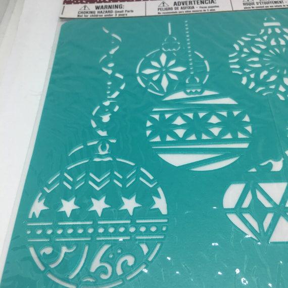 Stencils/ Christmas Stencils / Christmas Ornaments