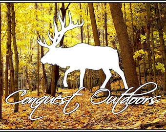 Conquest Outdoors Elk Sticker