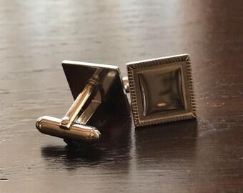 Vintage Anson Silvertone Cufflinks