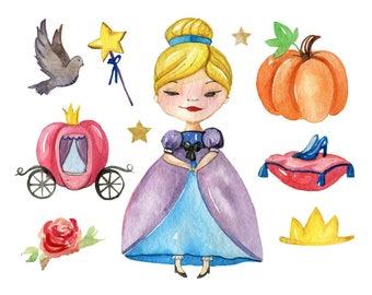 Watercolour Fairy Clip Art Graphic Design PNG High Resolution C10