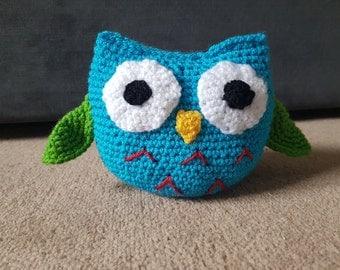 Crochet Owl 'Tina'