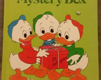 Walt Disney's The Mystery Box First American Edition 1979 Grolier Book Club Edition Disney's Wonderful World of Reading
