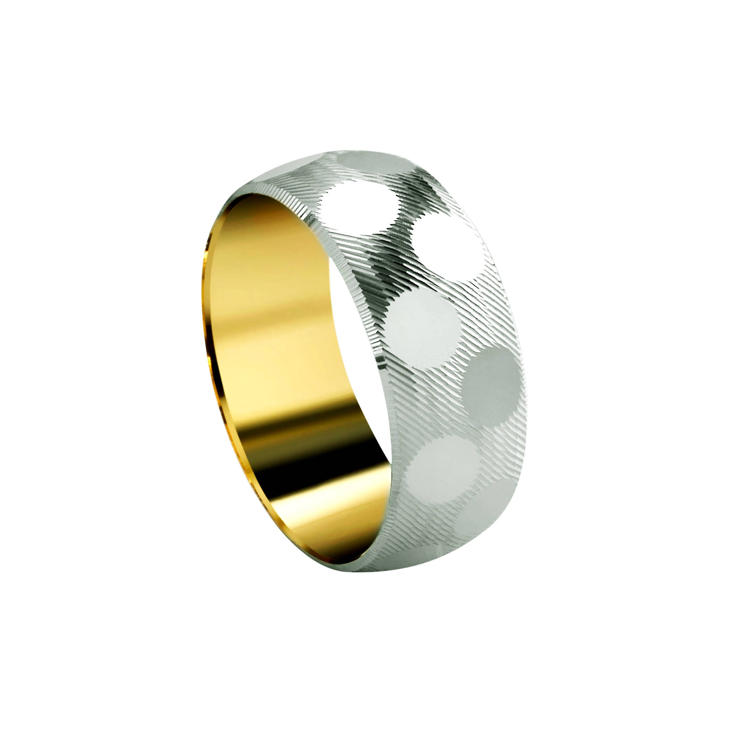 toronto wedding co amon product gold band vaughan bands untitled two luna tone jewellery custom hallow in mens