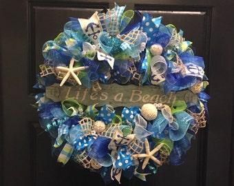 Life's a Beach Wreath