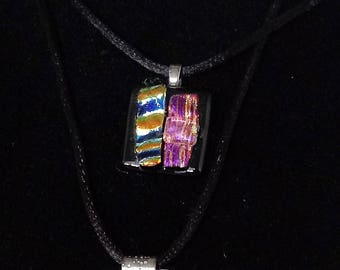 Square Fused Necklace