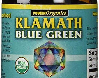 Klamath Blue-Green Organic Algae Superfood