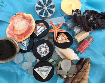 Sea Goddess Travel Altar