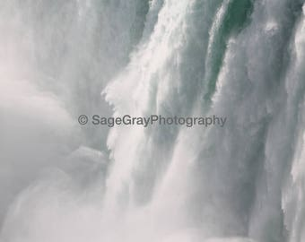 "8x10"" Photo Print - Waterfall Niagara Falls - Nature/Landscape Photography"
