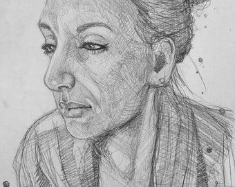 Custom Graphite portraits