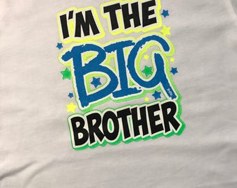 Siblings Shirts - I'm the Big Brother Shirt, I'm the Middle Brother Shirt, I'm the Little Brother Shirt, Brothers T-Shirts