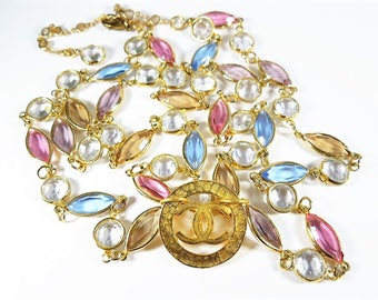 Crystal Runway Designer Necklace
