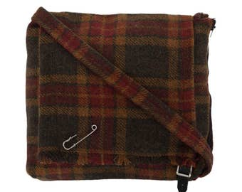 Kilted Tweed Bag made in Scotland