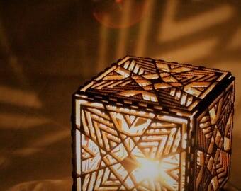 HEXA laser-cut lantern