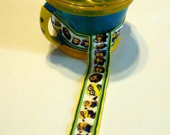 Minion Sippy Cup Straps - Sippy No Slippy