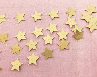 Punched Paper Streamers: Stars (by the foot)