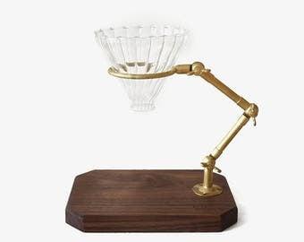 Coffee making holder, coffee maker