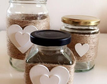 Love Heart Jam Jar