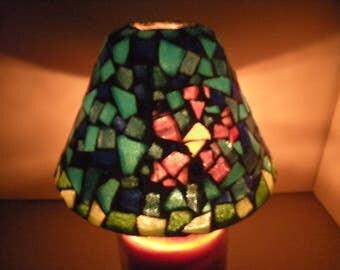Mosaic Candle Shade