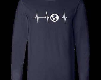 Heartbeat Men's Jersey Long Sleeve