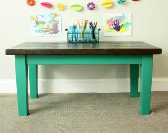 Childrens Desk with Tapered Legs