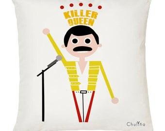 Freddie Mercury cushion