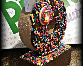 "Donut Business Card Holder-""Double D's"""