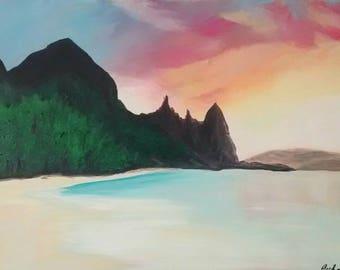 Oahu Warm Sky