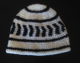 Hat, stripe and arrow pattern
