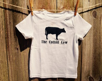 The Cotton Cow Logo Tee/Onesie