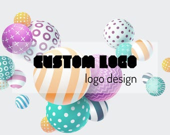 Custom Logo Design, Unique Logo Design, Logo Graphic Design, Business Logo, Watercolor Logo, Modern Logo,