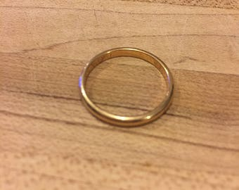 Simple Band, 2mm 14K Gold Band, Wedding, Engagement, Promise Ring