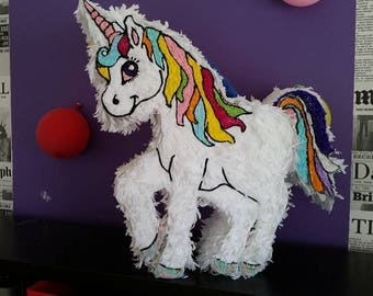 Piñata Unicorn Visual exceptional! HANDMADE