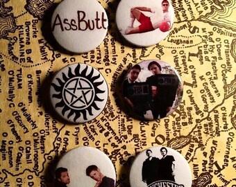 Supernatural Button Set