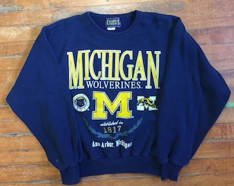 Michigan Wolverines Pullover Sweater