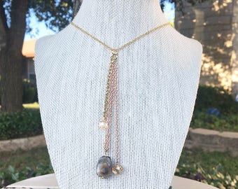 Pretty Seed Necklace