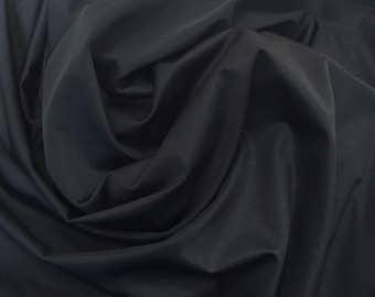 4-Way Stretch Nylon/Spandex Performance Fabrics Black