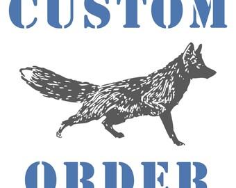 Custom Handprint Beer Mug for Local M2M Charlotte