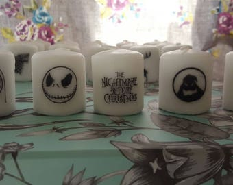 nightmare before christmas candle set