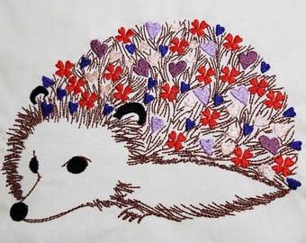 Baby Hedgehog - Machine Embroidery Design
