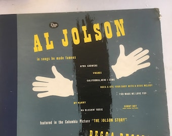 Al Jolson in songs he made famous 78 vinyl collection