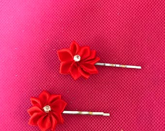 1 & 3/4 inch Decorated Bobby Pins