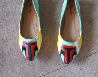 Star Wars Boba Fett Shoes Themed