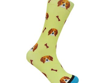 Beagle Puppy Socks